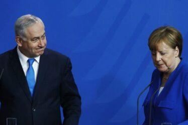 Appel téléphonique furieux de Benjamin Netanyahu avec Angela Merkel: `` Vous nous avez déçus ''