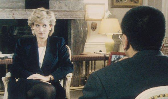 La princesse Diana lors de son entretien avec BBC Panorama en 1995