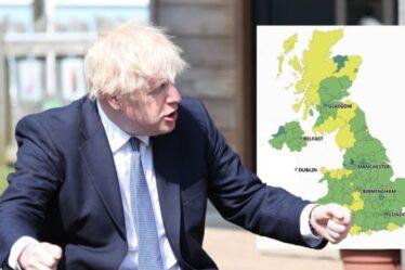 Combien de cas de variante indienne au Royaume-Uni?  Boris Johnson `` anxieux '' alors que les vaccins contre les surtensions commencent