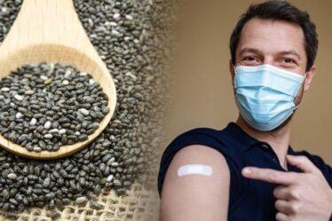 Covid: les graines de chia peuvent renforcer l'immunité de quatre manières - voici comment