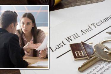 Droits de succession: les différends vont-ils augmenter - comment les testaments peuvent-ils être contestés et rendus invalides?