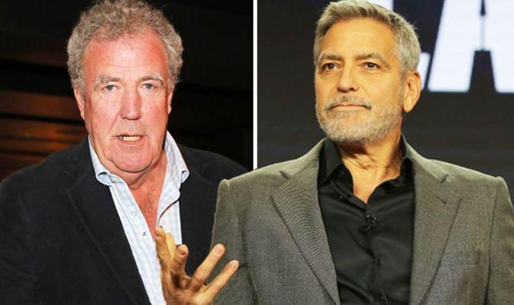`` Il n'est pas étonnant que nous ne le voyions pas dans les films '' Jeremy Clarkson sur le `` cauchemar '' de George Clooney