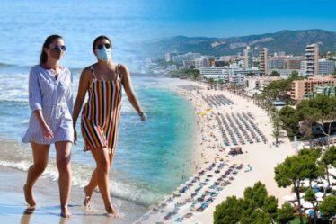 Jusqu'à 100000 Britanniques prêts pour l'Espagne cette semaine malgré l'avertissement du FCDO `` contre '' les voyages