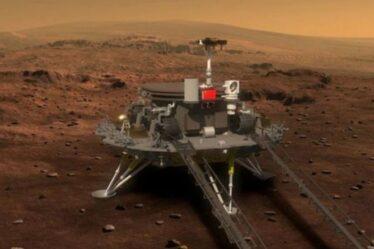 La Chine tente d'atterrir son rover sur Mars CE SOIR