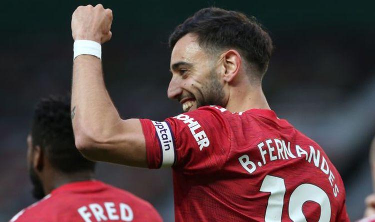 La star de Manchester United, Bruno Fernandes, salue le `` rêve devenu réalité '' malgré la défaite de Liverpool
