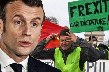Le temps presse, Macron!  - La France a averti que le mouvement Frexit se développerait à mesure qu'il donnerait du pouvoir à l'UE