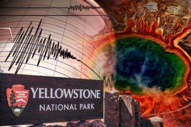 Le volcan Yellowstone secoué par 1700 tremblements de terre alors que les craintes d'une `` éruption en retard '' persistent