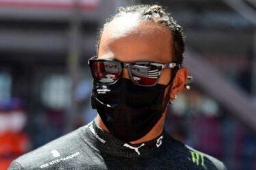 Lewis Hamilton critique les règles et règlements de la F1 2022 - `` Un pas en arrière ''