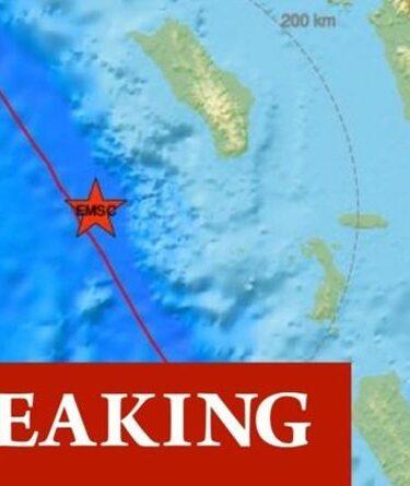 Séisme en Indonésie: le tremblement de terre du monstre 6.7 secoue le nord de Sumatra