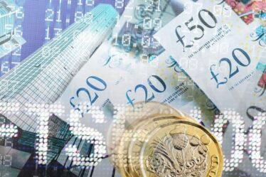 Taux de change de la livre sterling à l'euro: la livre sterling `` au premier plan '' alors que le SNP manque la majorité