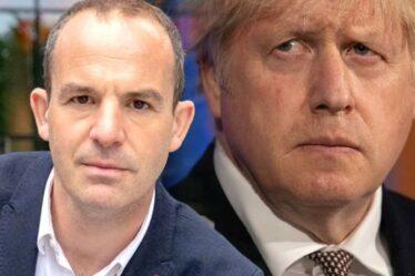 `` Trébuché à la première clôture '' Martin Lewis `` expose l'écart '' alors qu'il exhorte Boris à repenser ses plans