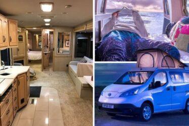 Vacances au Royaume-Uni: la tendance `` Pampervan '' propose une version `` luxe cinq étoiles '' du camping traditionnel
