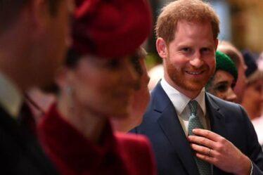 Le prince Harry tente de guérir la faille royale en discutant avec Kate peu après la naissance de Lilibet
