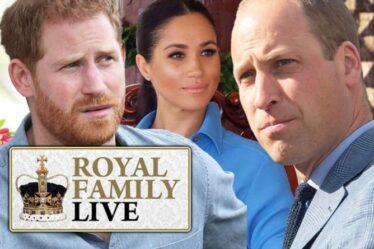 Famille royale EN DIRECT: le prince William a «jeté Harry» – voulait être séparé de Meghan
