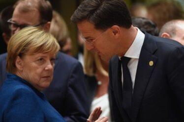 Merkel et le Premier ministre néerlandais accusés de complot secret visant à offrir à la Turquie plus d'argent dans le dos de l'UE