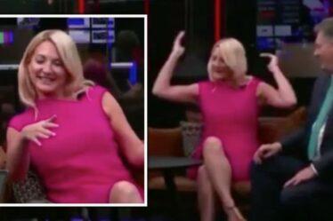"""Alex Phillips souffre d'un """"dysfonctionnement de la garde-robe"""" sur GB News: """"Ça a fait un ping!"""""""