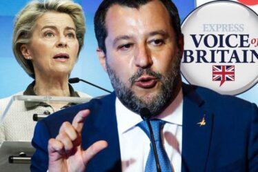 """Arrivederci!  L'Italie devrait suivre le Royaume-Uni hors de l'UE au milieu de l'avertissement d'""""effondrement"""" du bloc"""