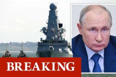 Avertissement de la Troisième Guerre mondiale : la Russie menace de BOMBATTRE des navires britanniques - Poutine tire la sonnette d'alarme
