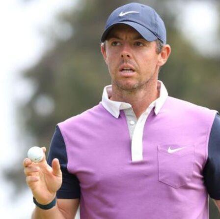 Classement de l'US Open EN DIRECT: mises à jour du score du tour final avec Rory McIlroy en lice