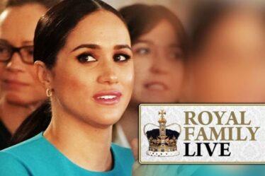 Famille royale EN DIRECT : Oh non Meghan !  Coup dur pour un nouveau livre quelques jours avant son lancement lucratif