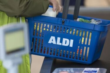 La rangée d'Aldi explose alors qu'une femme fulmine contre des acheteurs «ennuyeux» emballant des chariots à la caisse