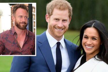 """Les détracteurs de Harry et Meghan fermés par James Jordan à propos du nom de bébé royal """"C'est du respect"""""""