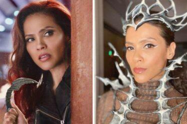 """Lesley Ann-Brandt de Lucifer jaillit sur le signe de tête d'Emmy FYC pour l'équipe de l'émission: """"Tellement fier"""""""