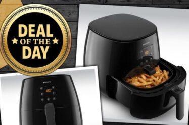 OFFRE DU JOUR: Cette friteuse à air Philips Essential est en vente - économisez 70 £