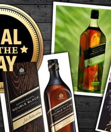 OFFRE DU JOUR : Économisez jusqu'à 40 % sur le whisky Johnnie Walker Black Label