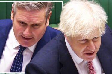 PMQ LIVE: Boris sur les cordes alors que ses propres députés s'en prennent au Premier ministre pour l'aide étrangère - Starmer envisage le coup final
