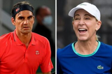 Roger Federer face à une « bataille difficile » alors que Chris Evert s'inquiète des chances de Wimbledon