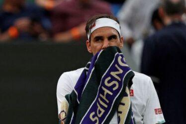 """Roger Federer s'est senti """"chanceux"""" après la retraite d'Adrian Mannarino sur blessure lors du choc de Wimbledon"""