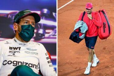 Sebastian Vettel ne copiera pas Roger Federer alors qu'il aborde ses réflexions sur la retraite en F1