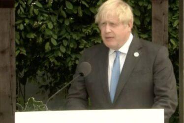 Un camouflet du G7 ?  La BBC coupe brusquement Boris Johnson au milieu du discours alors que le présentateur se démène pour expliquer