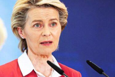 """La «façade» de l'UE s'effondre!  Un bloc """"vindicatif"""" se tire une balle dans le pied alors que la Suisse est """"menacée"""""""