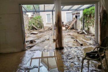 """Une femme raconte l'épreuve terrifiante qu'elle a subie après les inondations en Allemagne - """"J'ai encore des cauchemars"""""""