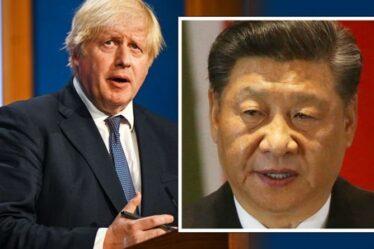 Boris doit faire face au «harcèlement» de la Chine, selon un ancien diplomate britannique – les craintes d'une «prise de contrôle» de l'Afghanistan