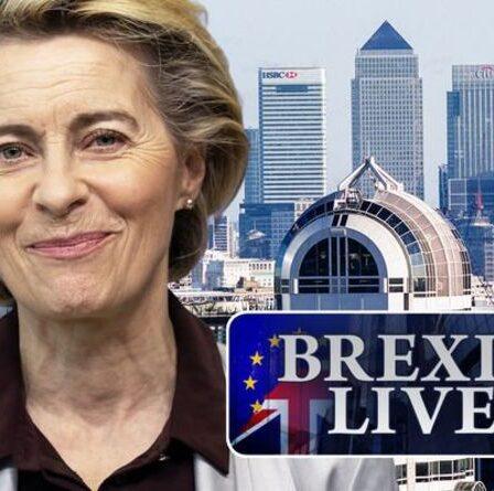 """Brexit EN DIRECT: la prise de pouvoir de l'UE commence alors que le PDG français retire ses opérations au Royaume-Uni - se réjouit de la """"nouvelle tendance"""""""