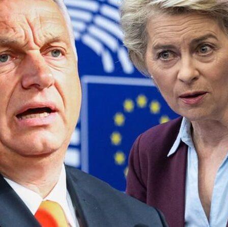 Bruxelles s'apprête à punir la Hongrie en bloquant la distribution de 6,1 milliards de livres sterling sur les coronavirus suite aux règles de l'UE