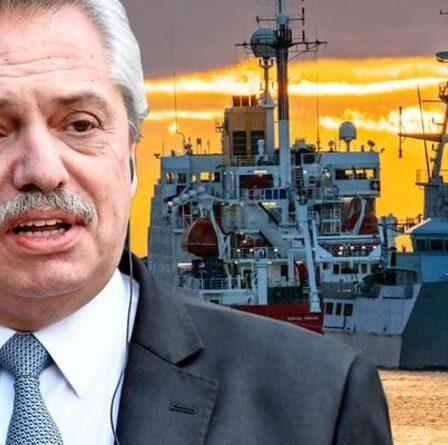 Ce sont NOS eaux !  L'Argentine lance une prise de pouvoir aux Malouines - les entreprises britanniques visées