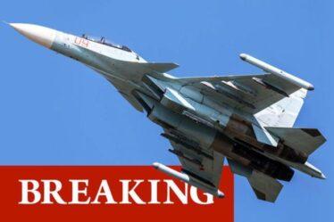 Chaos au-dessus de la mer Noire: des jets russes interceptent un «avion espion américain» – averti loin de la frontière