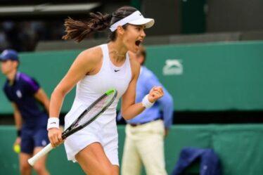Emma Raducanu «rêve» de gagner Wimbledon alors que la star britannique se prépare pour le quatrième tour