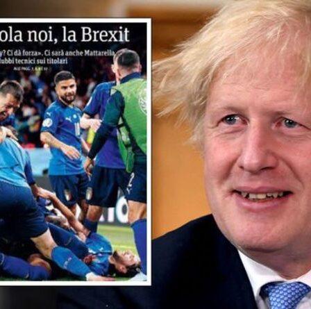 «Faisons le Brexit!»  Un grand journal italien se moque de l'Angleterre avant la finale de l'Euro