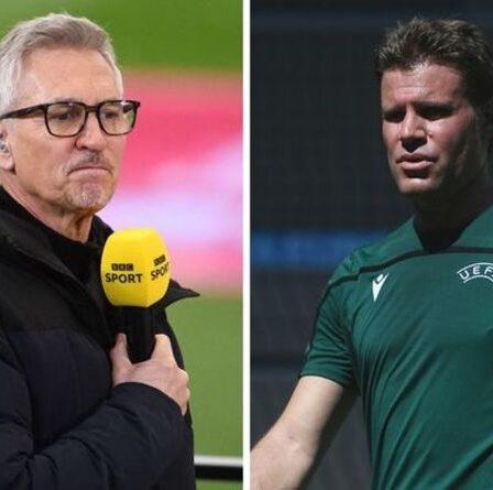 Gary Lineker calme les fans anglais paniqués après l'annonce des officiels de l'Euro 2020 pour l'Ukraine