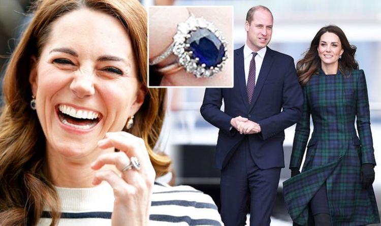 """""""Grande importance"""": Kate Middleton """"suivit la tradition"""" avec une bague de 1 200 £ de William"""