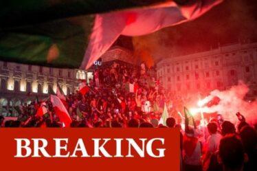 Italie Euro 2020 horreur comme un mort et plusieurs blessés lors de la frénésie des célébrations du football
