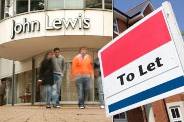 John Lewis construit 10 000 maisons dans des parkings et au-dessus de Waitrose - meublées avec ses propres produits