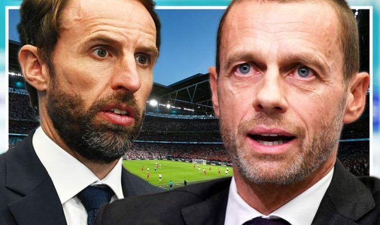 """L'Angleterre se qualifier pour la finale de l'Euro 2020 n'était """"pas juste"""" !  Le président de l'UEFA lance un événement paneuropéen"""