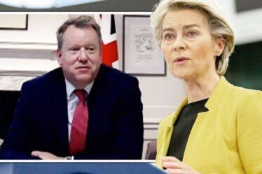 L'accord sur le Brexit au bord du gouffre : Lord Frost met en garde l'UE