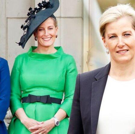 """Le langage corporel de Sophie Wessex montre une """"fierté maternelle"""" alors qu'elle """"introduit Lady Louise dans l'entreprise"""""""
